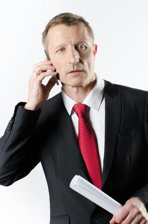banker: banker on the phone