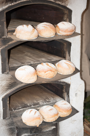 old fashioned: bread in an old fashioned bakery