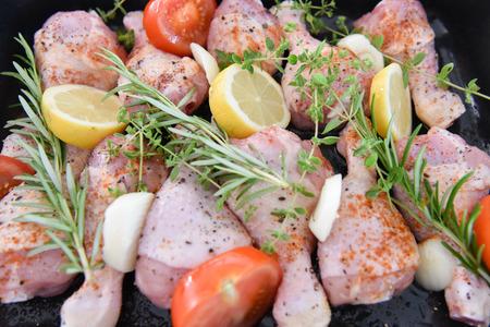rosmarin: chicken in the oven for dinner
