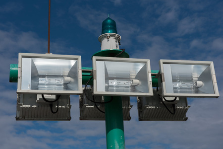 lighting system: lighting system for the harbour