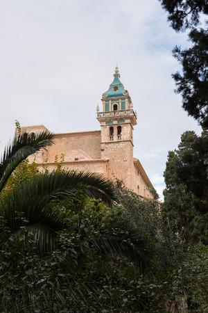 mallorca: church in Valdemossa, Mallorca, Spain