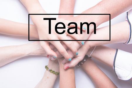 staple: staple of hands of several team mebers