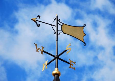 wiatrowskaz: Wiatrowskaz w londyńskiej ulicy Zdjęcie Seryjne