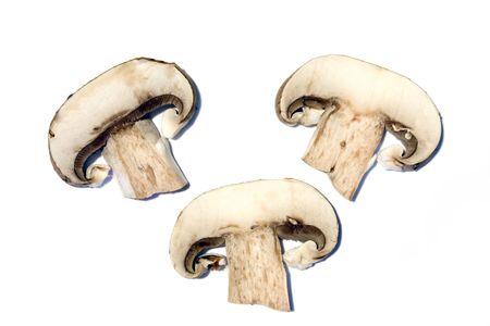 Mushroom slices Stock fotó