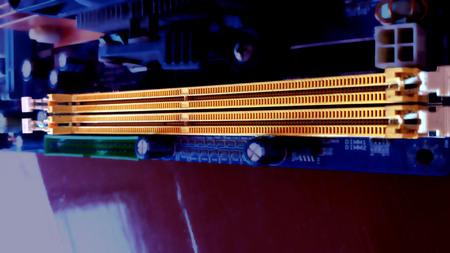 DDR memory slot of motherboard