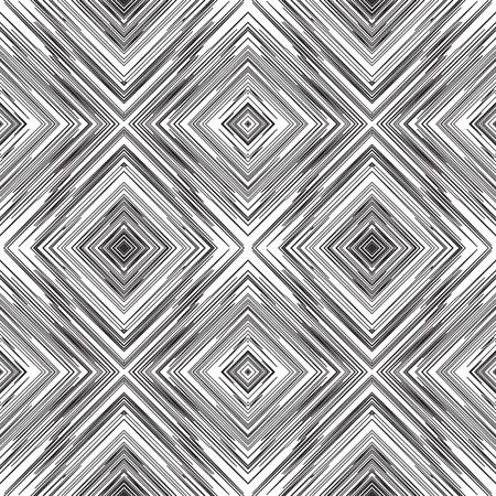 Abstrakte Geometrische Große Monochrome Blumenmuster Hintergrund ...