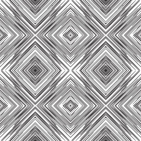 Art abstract diagonal square tangle line vector pattern background