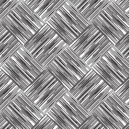overlap: Art line weave overlap vector pattern background Illustration