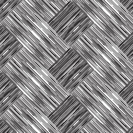 Abstracte lijn weave overlapping vector patroon achtergrond Stock Illustratie