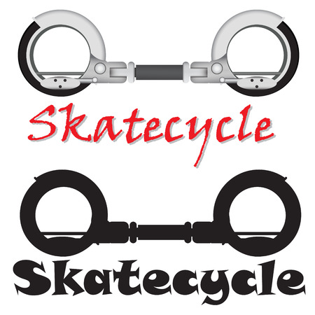 freetime: realistic modern Skatecycle vector object, sport machine