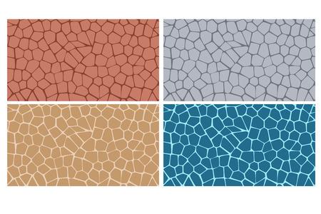 Texture moderne et élégant de la plaque de pierre dans le style de quatre Banque d'images - 43556136