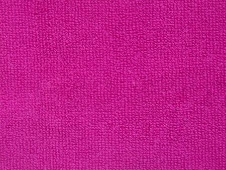 textura: Asciugamano rosa trama, tessuto di fondo