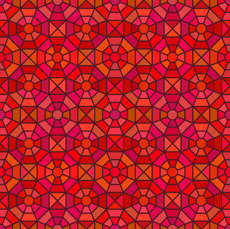 octagon: Seamless mosaic pattern in octagon concept, vector