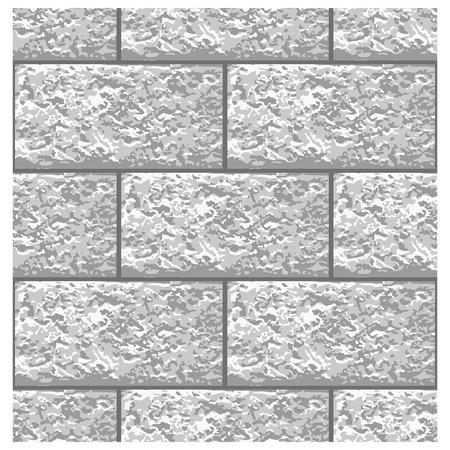 White Marble brick seamless pattern, vector pattern Illusztráció