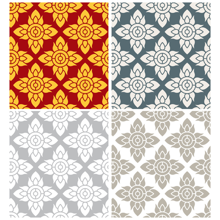 Thai sameless pattern - Download Free Vector Art, Stock Graphics ...