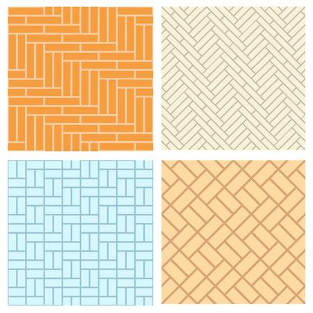 바닥과 벽, 벡터 원활한 벽돌 패턴 스톡 콘텐츠 - 61109905
