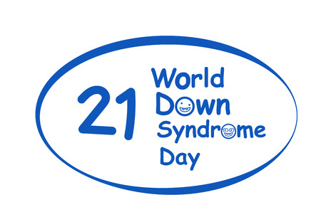 World down syndrome day in vector art design Illustration
