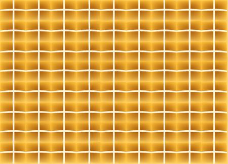 Hot cross buns pattern, top view, vector design.