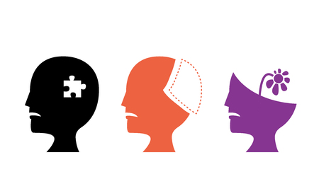 Set of Alzheimer's Disease icons