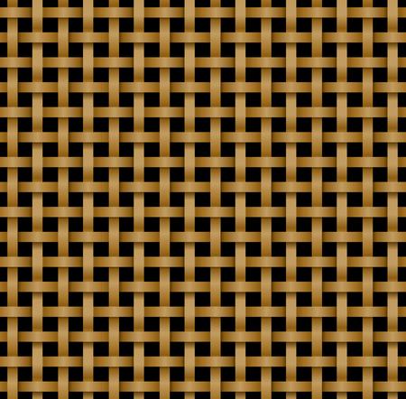 Naadloos rotanpatroon in knotworkstijl, vector