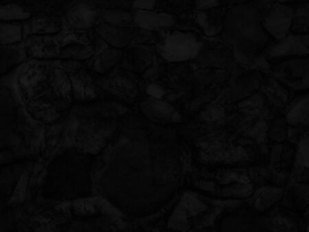 Old Black granite texture and surface for background