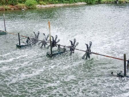 Oxygen generator - Water turbine machine in Thailand
