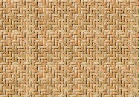 Seamless weave brown dry bamboo pattern