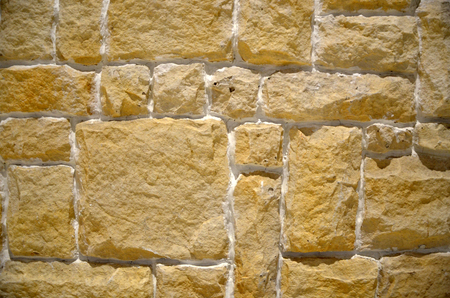 Closeup on stone wall