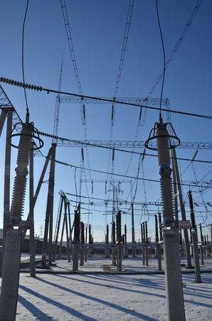 electric grid: Substation