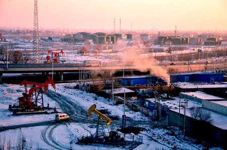 yacimiento petrolero: Daqing en China