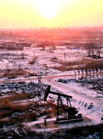 yacimiento petrolero: Daqing China