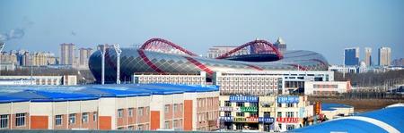 urban centers:  gymnasium building