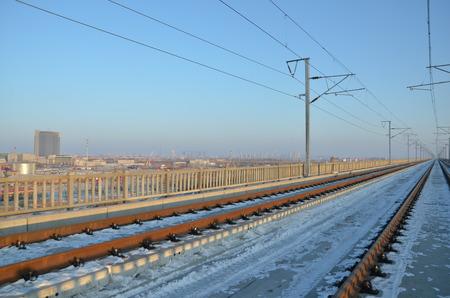 highspeed: high-speed railway during winter