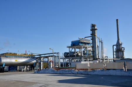 petrochemical plant: Chemical and petrochemical plant