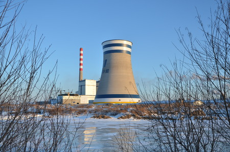 central el�ctrica: Planta de energ�a