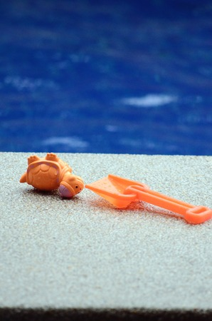 grand strand: Pool Toys Lap, sand turtle Stock Photo