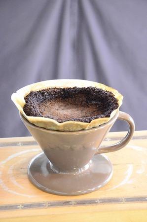 Coffer Drip Powdered coffee grounds photo
