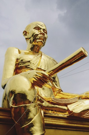 nakhon: Statue of Luang Phor Koon Temple in Nakhon Ratchasima, Thailand