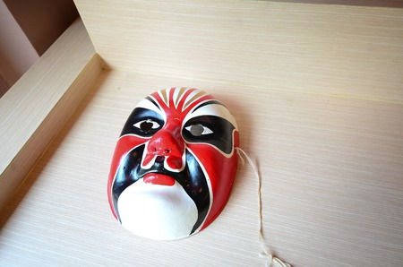 Traditional japanese theater mask