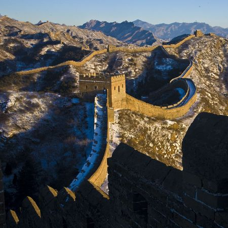 greatwall: jinshanling greatwall,china,Ancient buildings, places of interest