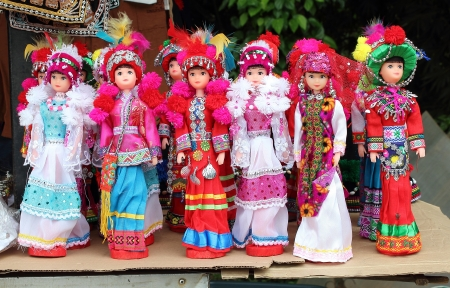 Tribal dolls