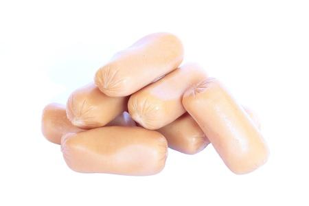 wienie: Hot dog Stock Photo