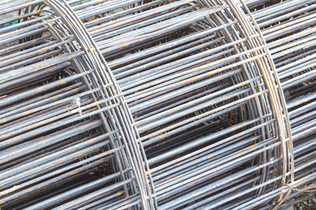 Rebar bending shape photo