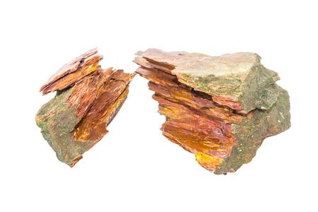 stone Granite,isolated on white photo