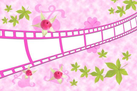 Pink film photo