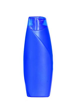Shampoo bottle isolated on white background Stock Photo - 27041381