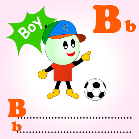 phonetic: word B is for Boy