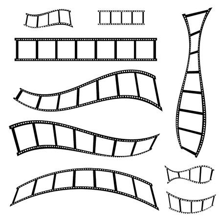 film strip vector illustration Vectores