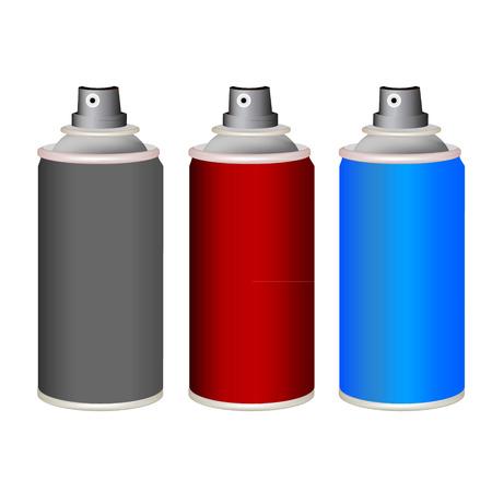 perspiration: spray bottle, isolated on white background.