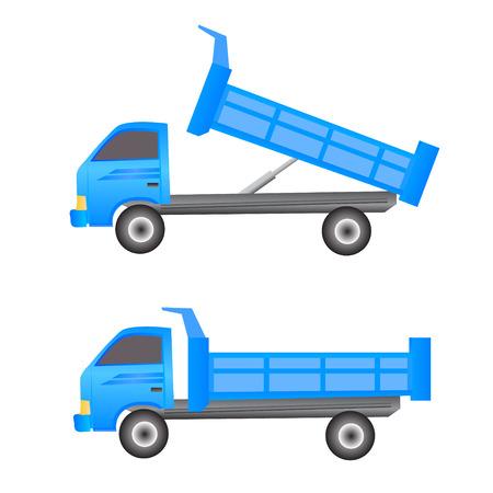 earthmoving: Dump truck